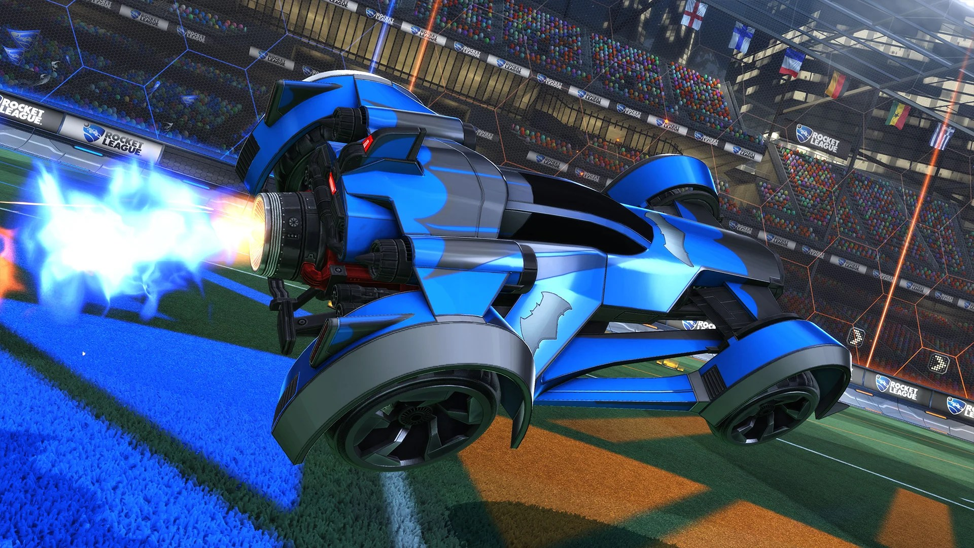 Fast And The Furious Cars Wallpaper Dc Super Heroes Dlc Pack Rocket League 174 Official Site