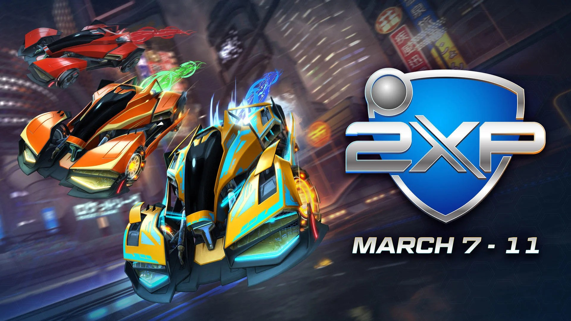 Week End Double Xp Double Painted Weekend Starts March 7 Rocket League