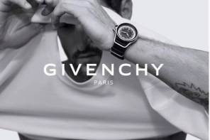 TONY WARD PARA GIVENCHY WATCHES PRIMAVERA VERANO 2015