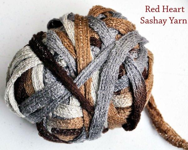 Red Heart Sashay Yarn