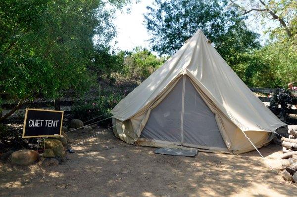 Quiet Tent