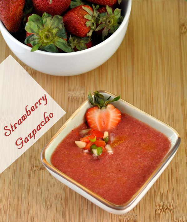 Recipe: Strawberry Gazpacho Soup