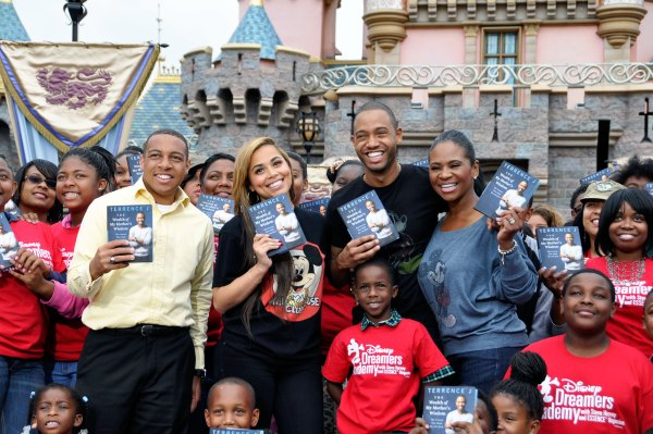Terrence Jenkins Disney Dreamers Academy