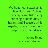 young living mission statement, wellness, purpose, abundance