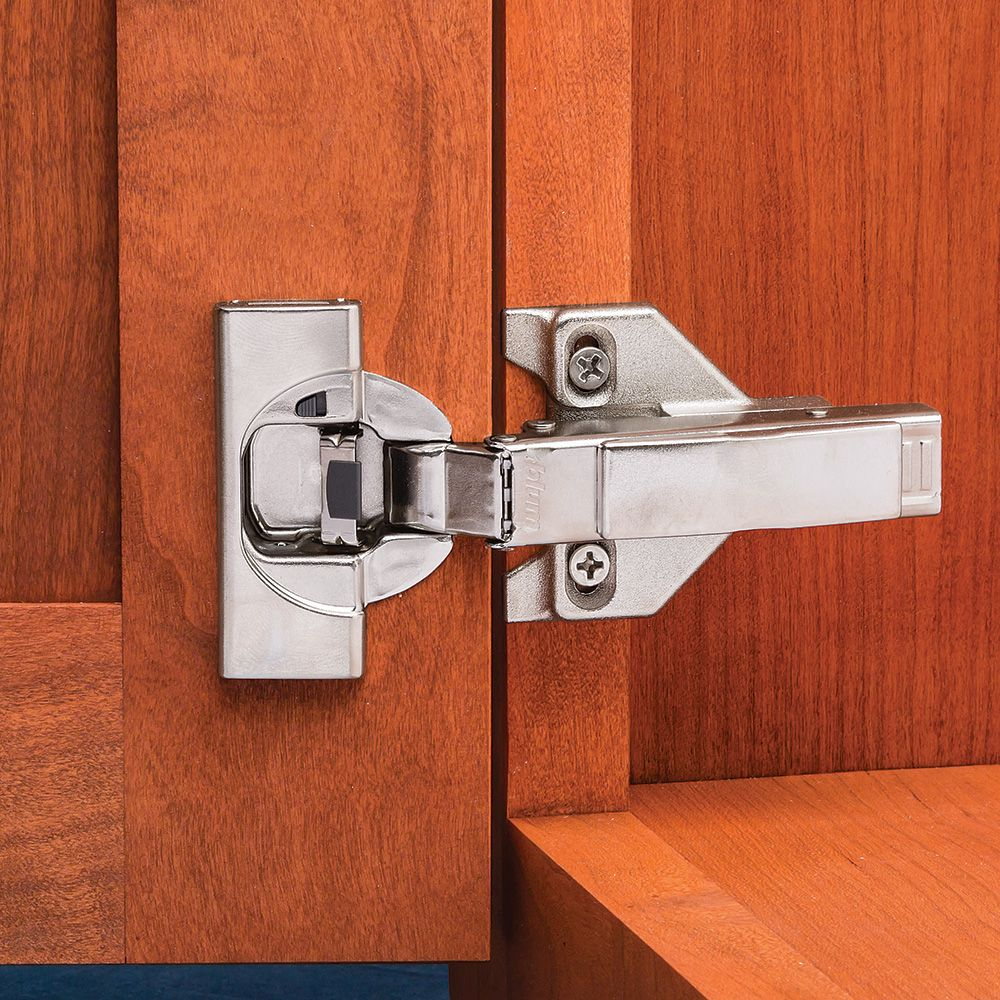 Blum 110 Soft Close Blumotion Overlay Clip Top Hinges For Face Frame Cabinets Hinges Rockler Woodworking Tools