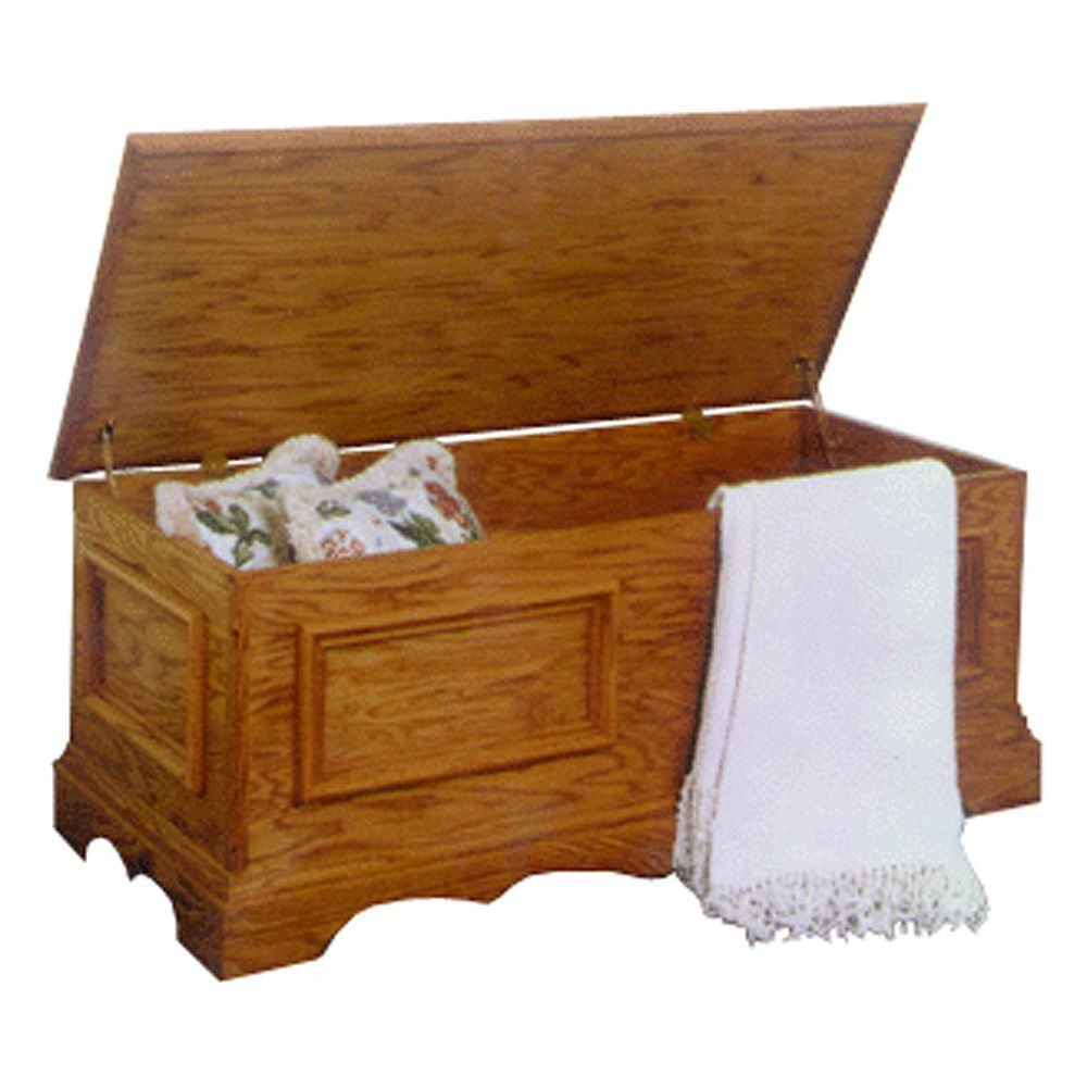 Wood Blanket Box Blanket Chest Plan