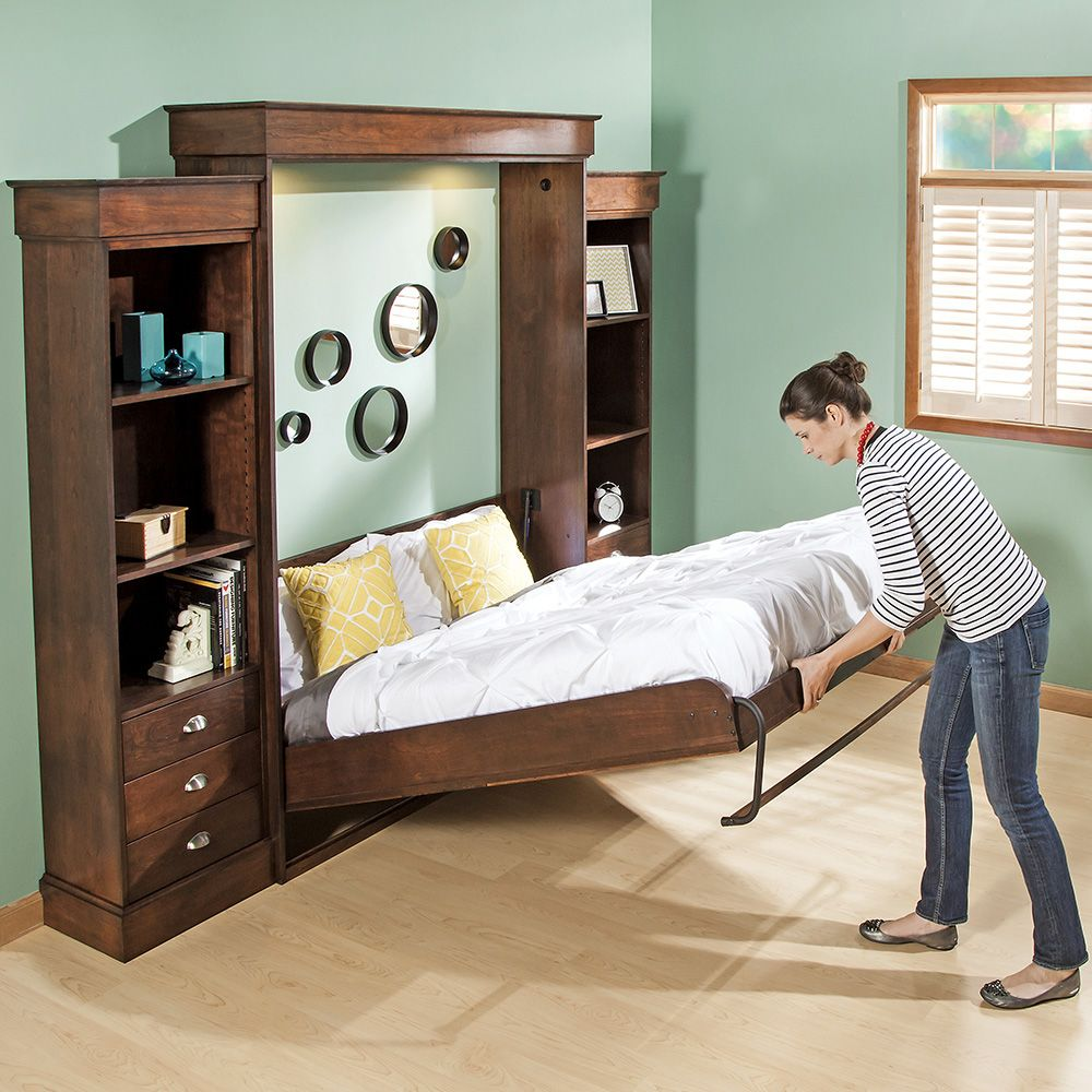 Lifting Beds Vertical Mount Deluxe Murphy Bed Hardware
