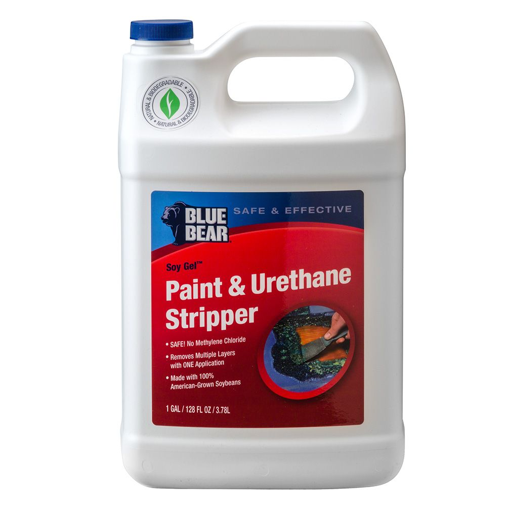 Paint Stripper Blue Bear Soy Gel Paint Urethane Stripper