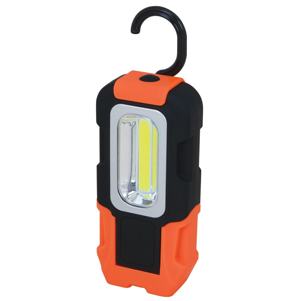 200 Lumen 200 Lumen Cordless Led Worklight With Folding Magnetic Base And Hook