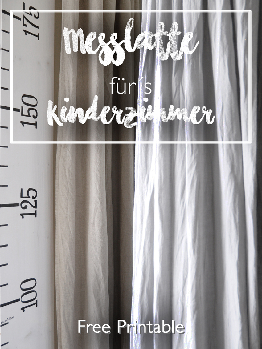Messlatte Für Kinder Diy Messlatte Für Kinder | Rock My Day