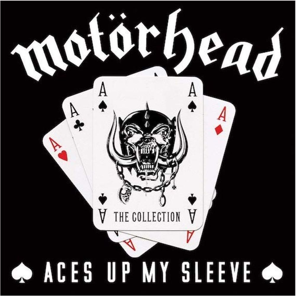 Motörhead Schriftzug Aufkleber Motörhead Album Aces Up My Sleeve The Best Of Motörhead