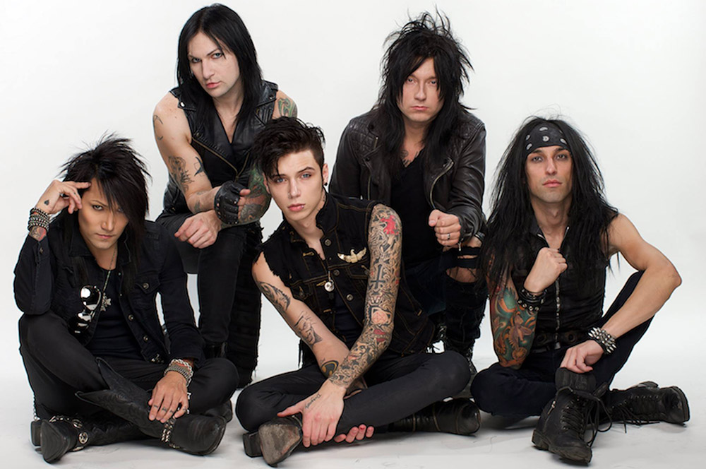 Falling In Reverse Wallpaper 2015 Black Veil Brides Confirma Nueva Fecha De Su Show En Chile