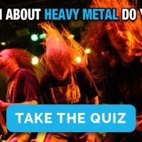 Πόσο καλά γνωρίζεις τη Heavy Metal; (Quiz)