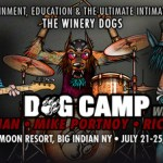 DOG CAMP FEATURING MIKE PORTNOY, BILLY SHEEHAN AND RICHIE KOTZEN OF THE WINERY DOGS
