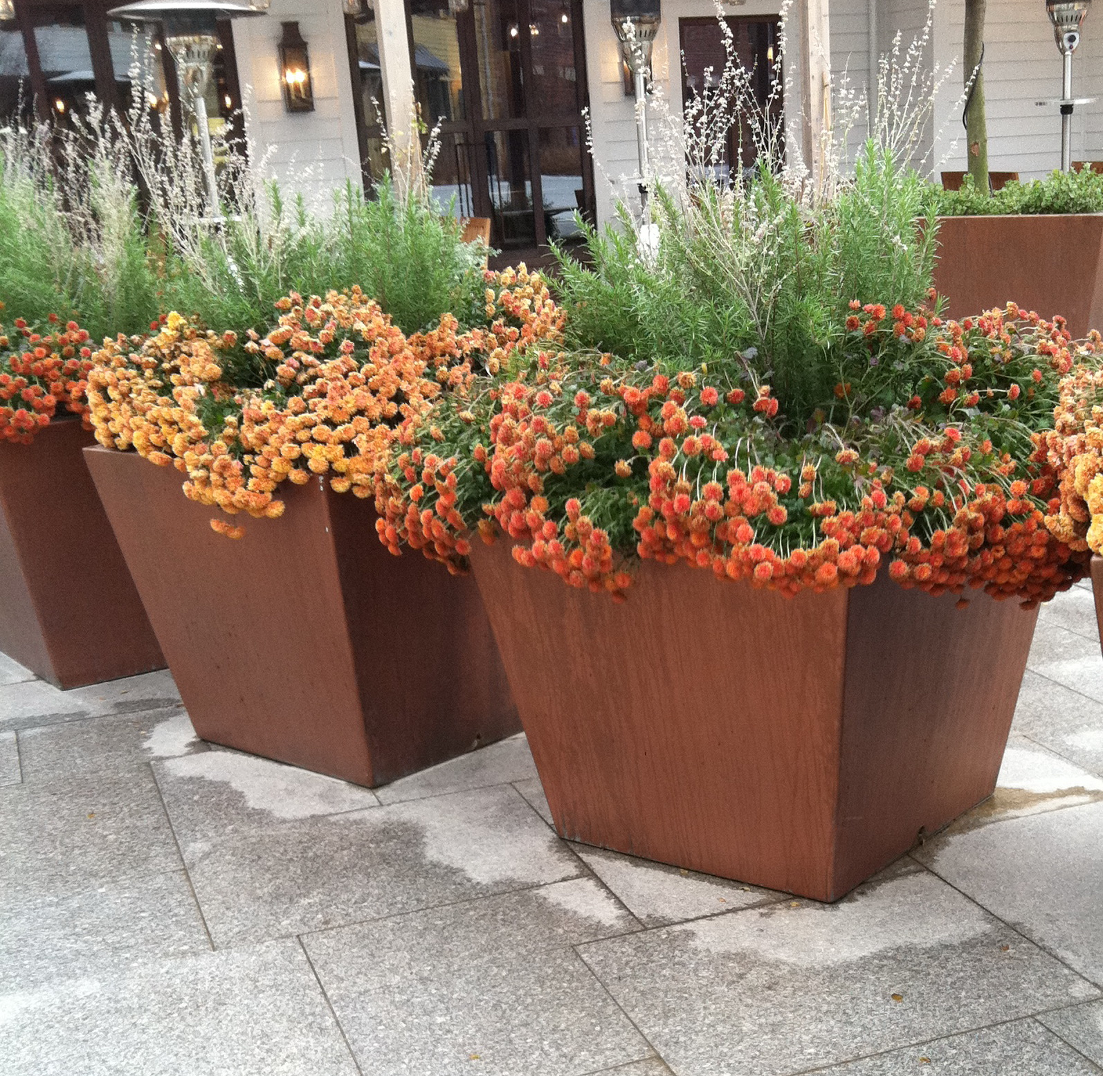 Big Flower Planters Containers Vs Pots For Your Garden And Landscape Rock