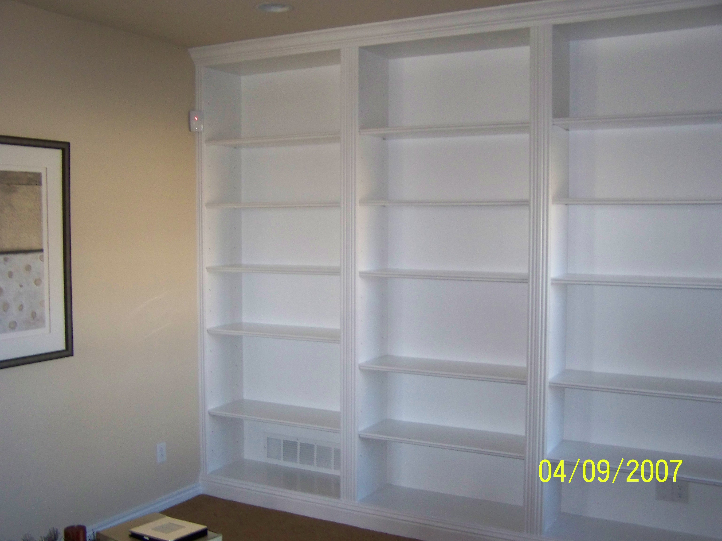 Bookcases Toronto Built In Bookshelves Casual Cottage