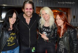 Girlschool with Kip Winger