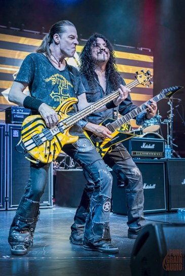 Stryper perform on The Monsters Of Rock Cruise