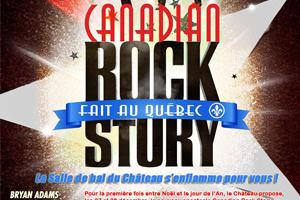 Canadian Rock Story - Jean Ravel et Élizabeth Diaga - Revue musicale Spectacle rock musique années Le Château Frontenac