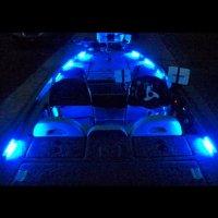 Boat LED Deck Lights - Rockwood LED Bass Boat Lighting Systems