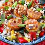 Kung Pao Grilled Shrimp