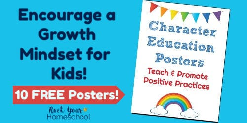 How to Use Character Education Posters for a Growth Mindset - Rock