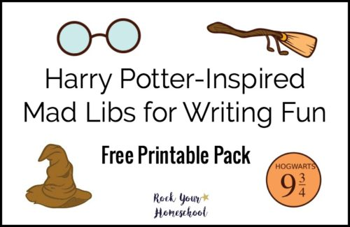 Free Printable Harry Potter-Inspired Mad Libs for Writing Fun - Rock