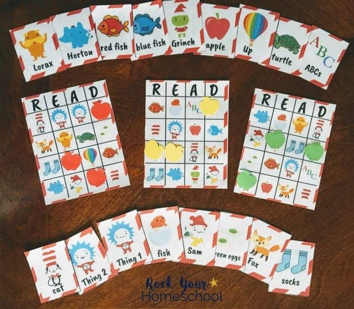 Dr Seuss-Inspired Bingo Game Your Kids Will Love - Rock Your Homeschool