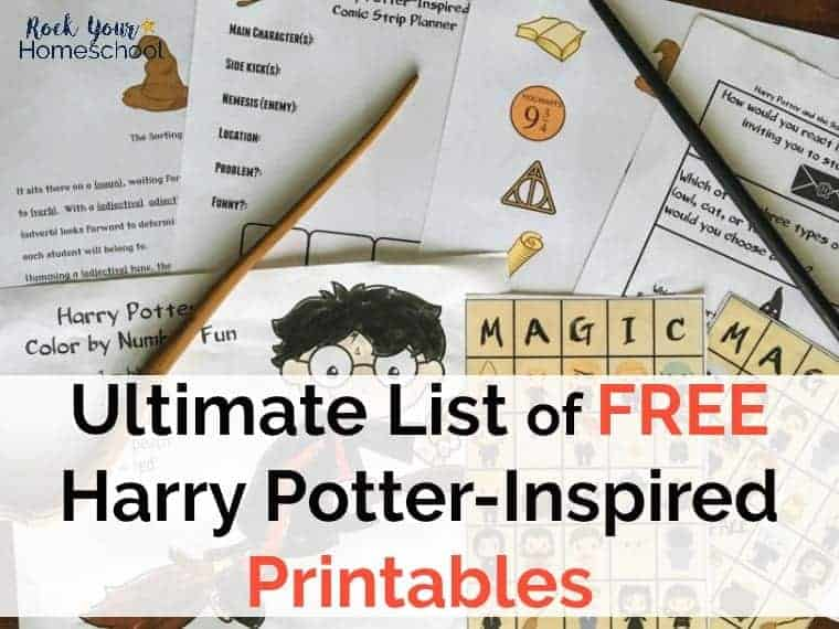 Ultimate List of Free Harry Potter-Inspired Printables - Rock Your