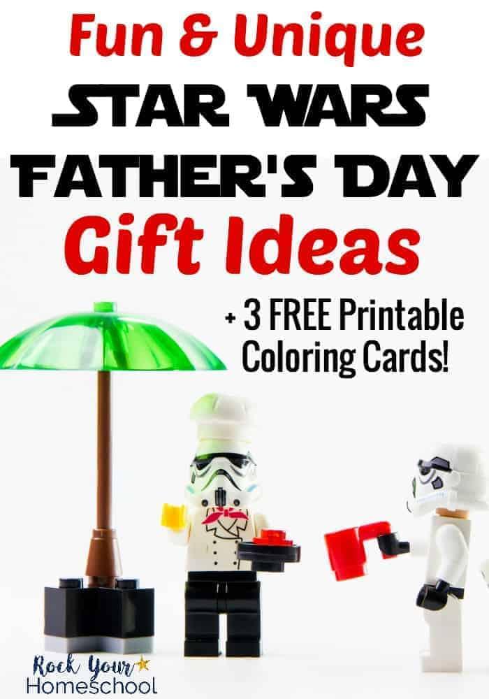 Fun  Unique Star Wars Father\u0027s Day Gift Ideas - Rock Your Homeschool