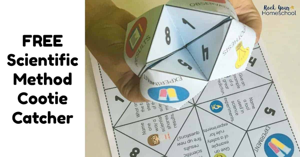 Free Scientific Method Cootie Catcher for Learning Fun - Rock Your