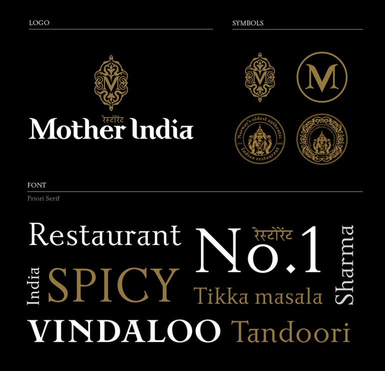 Mother india brand identity14