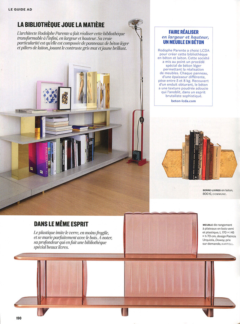 Bibliotheque 70 Cm Press Archives Page 2 Of 4 Rodolphe Parente Architecture