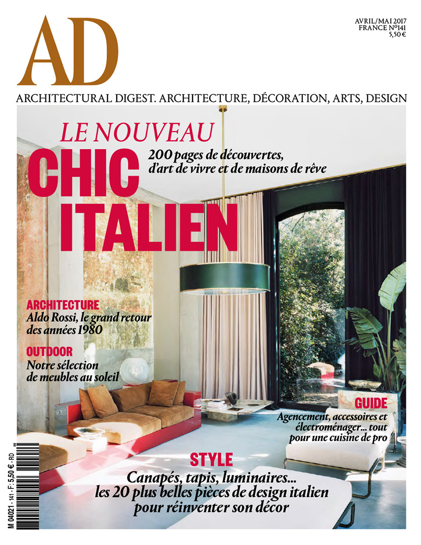 Art Et Decoration Cuisine Ad Chic Italien Rodolphe Parente Architecture Design