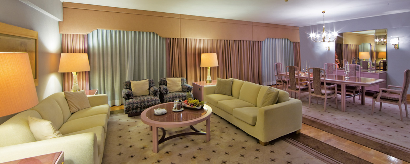 Living Room Color Schemes The Royal Suite Vip Style Sea View Rodos Palace