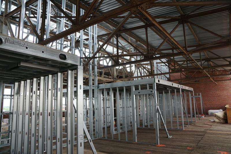 4th Floor Unit Framing Roebling Lofts