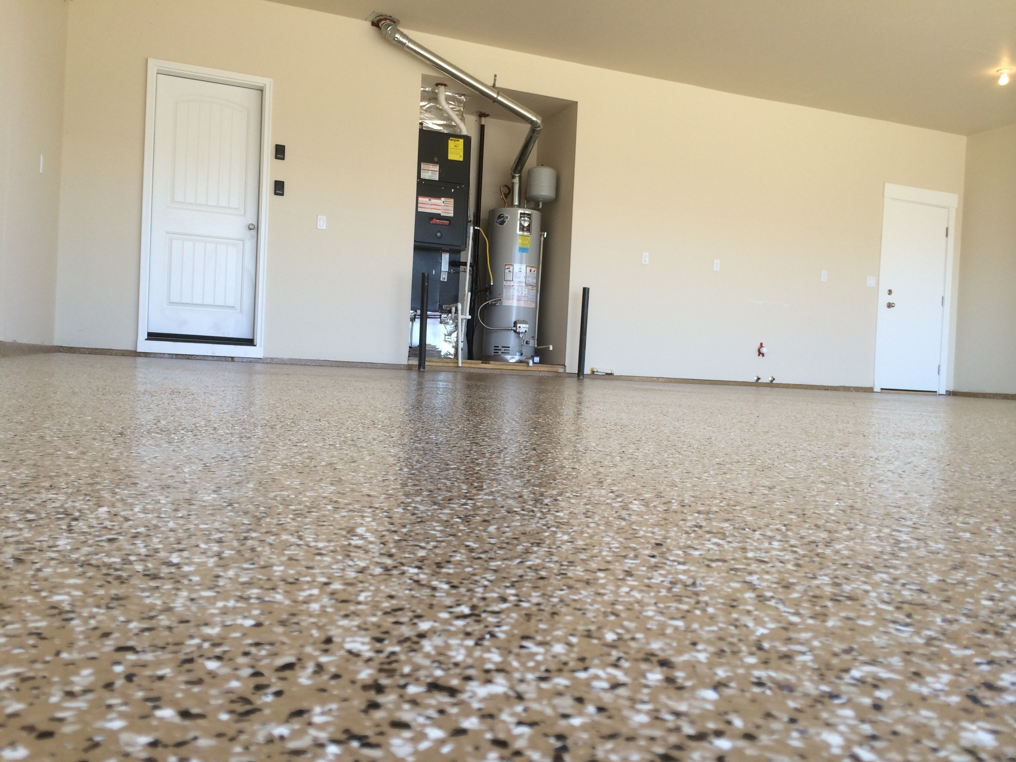 Garage Floor Epoxy Options Epoxy Floor Coating A Garage In Eagle Idaho