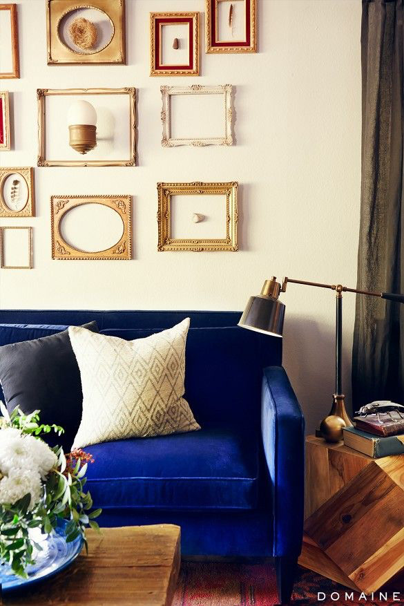 Couch Chesterfield Best Blue Velvet Sofas | Blog | Roger + Chris