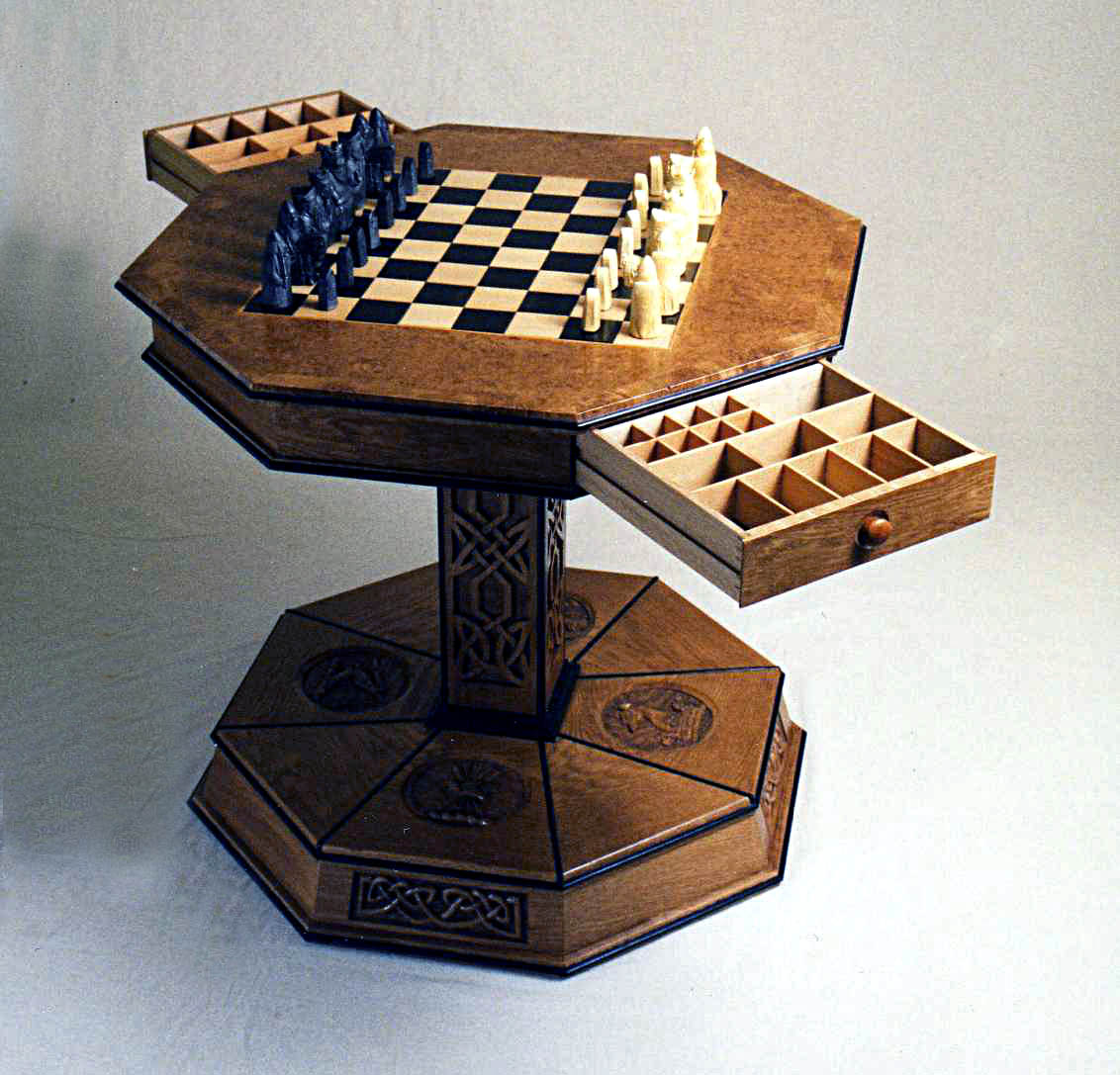 Chess Table Chess Table Roger Michael Fine Furniture