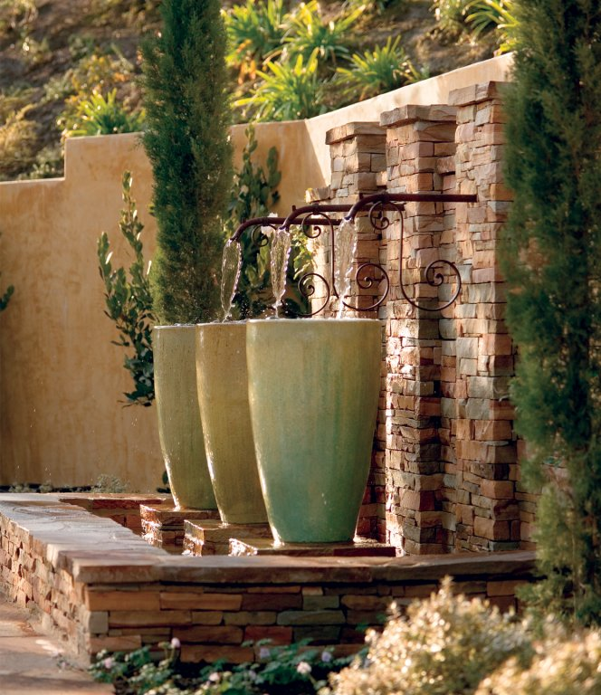 Italian Garden Landscape Ideas Water Features And Fountains