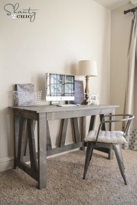 Rustic Truss Desk | Free Plans | Rogue Engineer