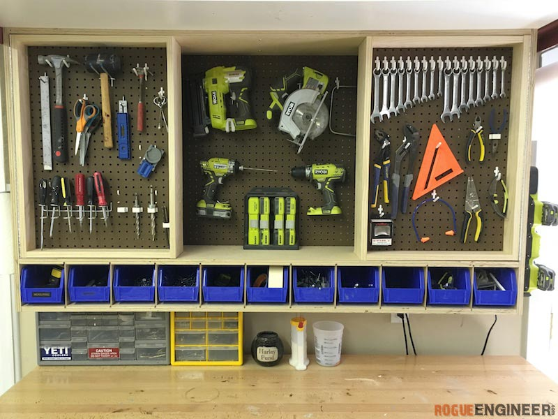 Tool Storage Wall Cabinet Rogue Engineer