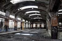 Gammel industribygning blev ikke konverteret til innovativt og kreativt byrum