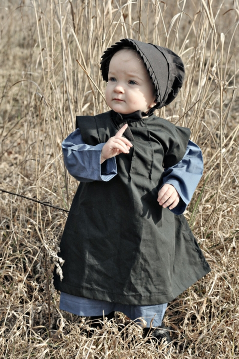 Newborn Infant With Fever The Baby Amish Dress Is All » Rolegraphy