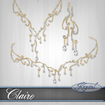 Claire - Princess Set - Gold