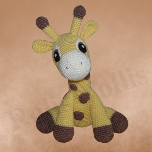 Amigurumi Hakel Anleitung Giraffe Kara ? Kreative ...