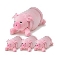 Pink Pig Pet 4 Pack  Nap Mat Cover Pillow + Blanket