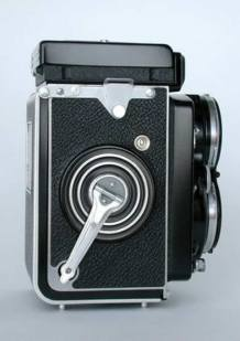 Right Side of the Rolleiflex 2.8B