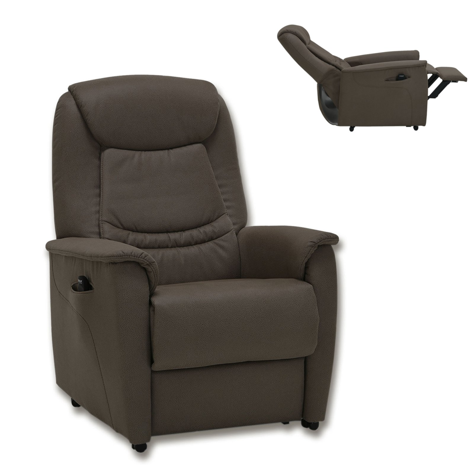 Tv Sessel Braun Mit Motor Fernseh Relaxsessel - Roller Relaxsessel