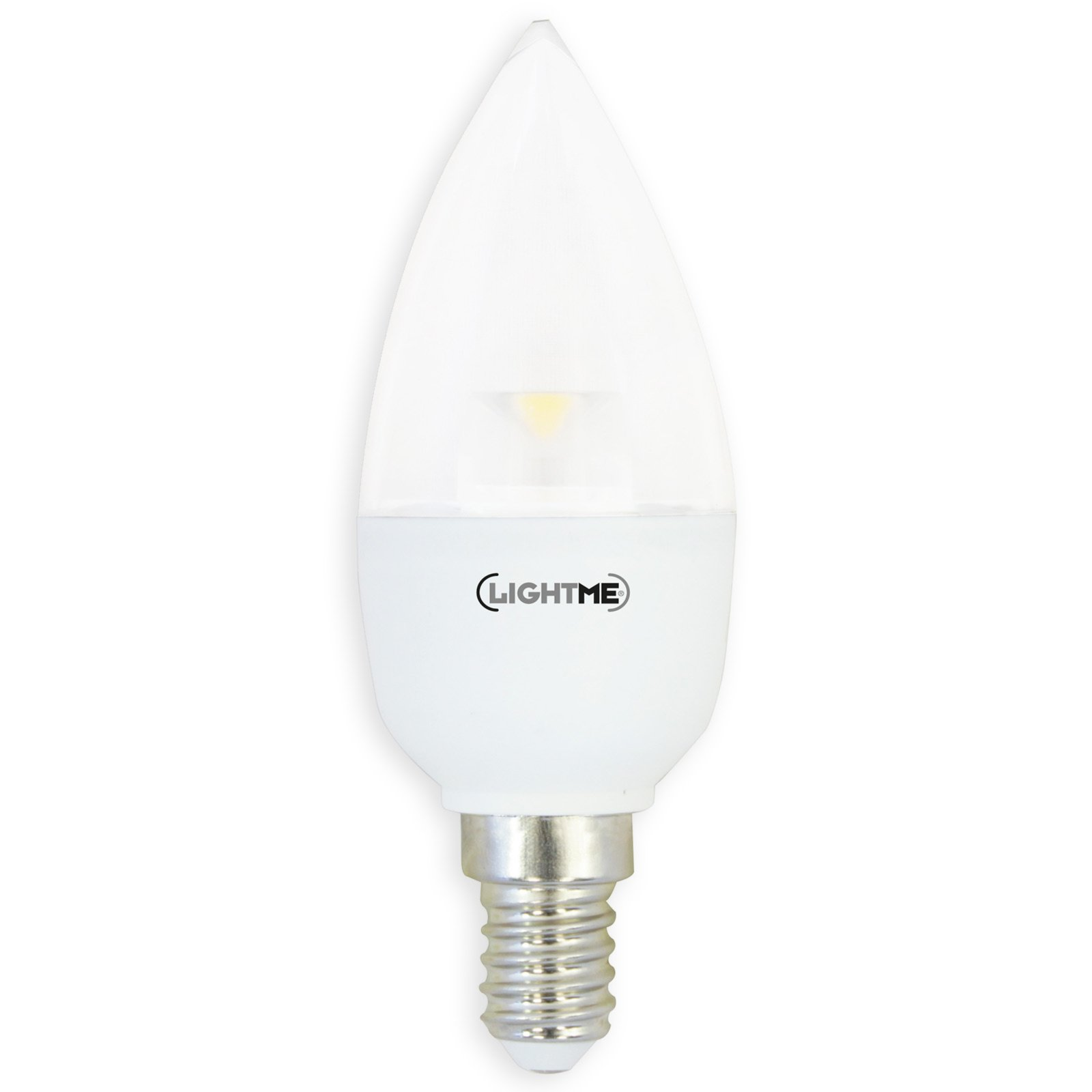 Led Dimmbar E14 Led Leuchtmittel Lightme Kerze Klar Dimmbar E14